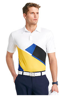 Izod Golf Abstract Print Polo