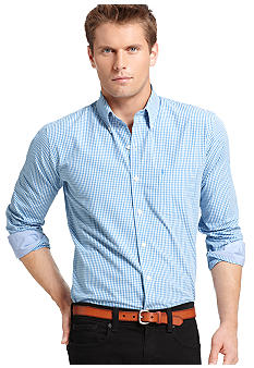 Izod Slim Fit Plaid Check
