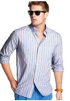 Izod Stripe Saltwater Oxford Shirt