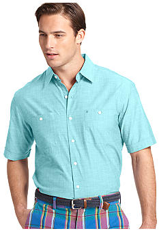 Izod Solid Point Slub Shirt
