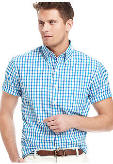 Izod Short Sleeve Check Shirt