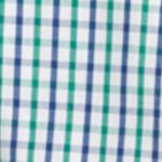 St Patricks Day Outfits For Men: Verdant Green IZOD Button-Down Tattersal Shirt