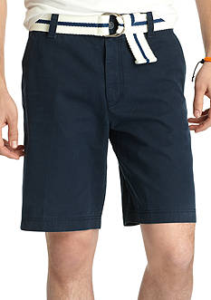 IZOD Flat Front Saltwater Shorts