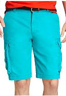Izod Saltwater Cargo Fashion Shorts