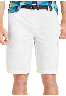 Izod Cotton Ripstop Cargo Short