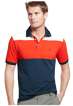 Izod Color Block Polo