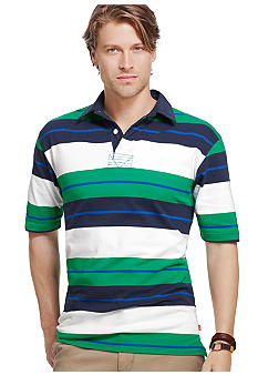 Izod Collegiate Stripe Polo