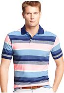 Izod Short Sleeve Oxford English Polo