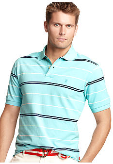 Izod Pique Thin Stripe Polo