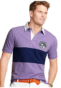 Izod Short Sleeve Slim Piece Dyed Pique Polo