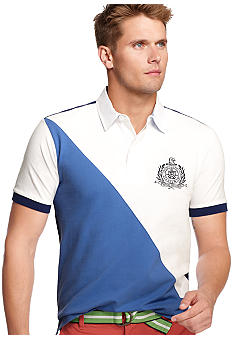 Izod Short Sleeve Slim Piece Dyed Pique