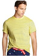 Izod Short Sleeve Stripe Tee