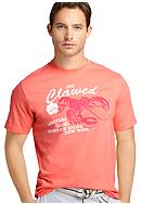 Izod Short Sleeve Clawed Graphic Tee