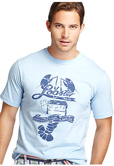 Izod Short Sleeve Lobster Graphic Tee