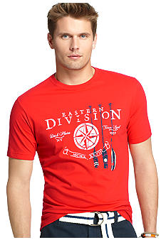 Izod Short Sleeve Row Graphic Tee