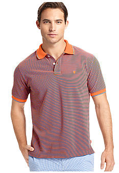 Izod Newfit Striped Pique Polo