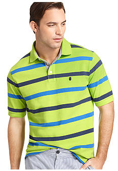 Izod Short Sleeve Oxford Pique Polo