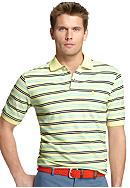 Izod Short Sleeve Oxford Stripe Polo