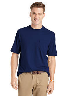 IZOD Short Sleeve Double Layer Crew Neckline Tee