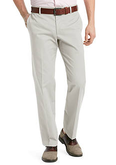 Izod Slim-Fit Flat-Front Wrinkle-Resistant Pants