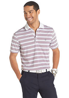 Izod Golf Patriot Stripe Polo