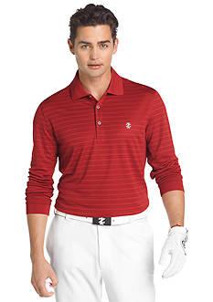 Izod Golf Textured Stripe Polo