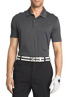 IZOD Golf Short Sleeve Cut Line Stretch Heather Polo Shirt
