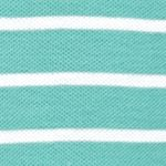 Shirts For Guys: Stripes & Prints: Agate Green IZOD Short Sleeve Auto Stripe Polo Shirt