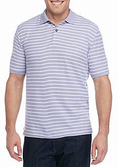 IZOD Short Sleeve Auto Stripe Polo Shirt