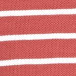 Shirts For Guys: Saltwater Red IZOD Short Sleeve Auto Stripe Polo Shirt