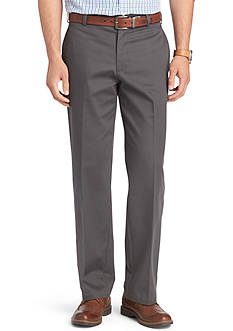 Izod American Chino Straight Fit Flat Front Pants