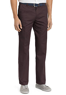 IZOD Straight-Fit Flat-Front American Chino Pants