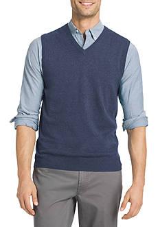 IZOD Fine Gauge Solid Sweater Vest