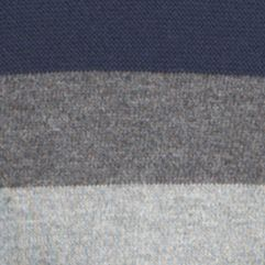 Guys Sweaters: Crew Neck: Light Gray Heather IZOD Color Block Field House Sweater