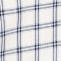 Young Men: Izod Casual Shirts: Egret IZOD Long Sleeve Plaid Woven Shirt
