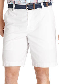 Izod Saltwater Flat Front Shorts