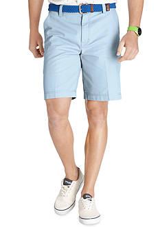 Izod Saltwater Flat Front Shorts
