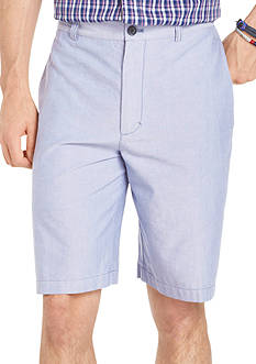 Izod Oxford Flat Front Shorts