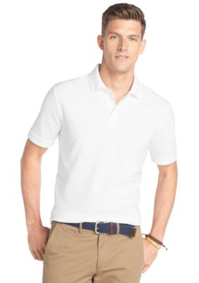 Men: Solids Sale: Bright White IZOD Solid Ottoman Polo