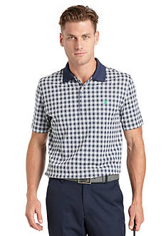 IZOD Golf Gingham Polo Shirt