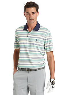 IZOD Golf Rainmaker Stripe Polo Shirt