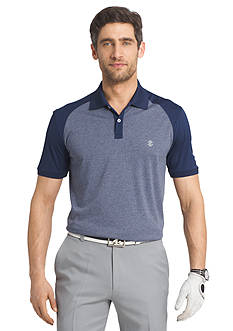 IZOD Golf Short Sleeve Tribute Heather Polo Shirt
