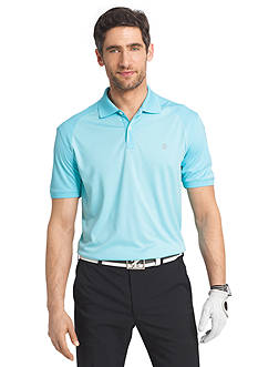 IZOD Golf Short Sleeve Tribute Heather Polo Shirt