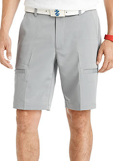 IZOD 10-in. Flat-Front Herringbone Golf Shorts