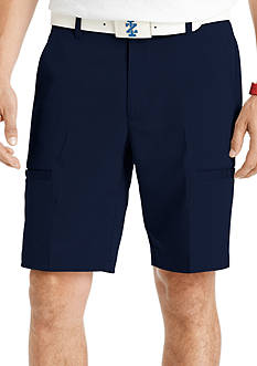 IZOD Golf 10-in. Flat-Front Herringbone Golf Shorts
