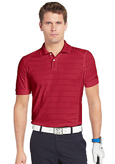 Izod Golf Slim Fit Jersey Stripe Polo