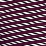 Mens Short Sleeve Polo Shirts: Deep Purple IZOD Golf Feeder Stripe Polo