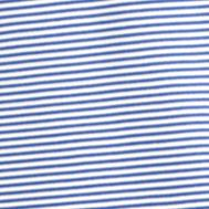 Mens Short Sleeve Polo Shirts: Cobalt Blue IZOD Golf Stripe Polo Golf Shirt