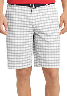 IZOD Portsmith Multi Check Shorts