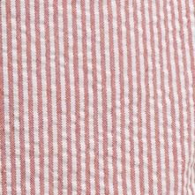 Pattern and Plaid Shorts for Men: Saltwater Red IZOD Seersucker Shorts